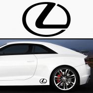 Sticker prag LEXUS (set 2 buc)