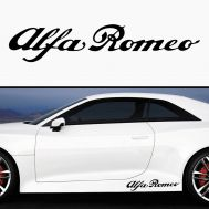 Sticker prag ALFA ROMEO (set 2 buc)