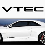 Sticker prag VTEC (set 2 buc)