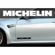 Set 2 buc. sticker auto lateral - MICHELIN