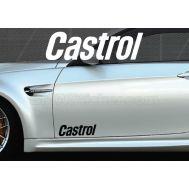 Set 2 buc. sticker auto lateral - CASTROL