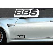 Set 2 buc. sticker auto lateral - BBS