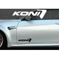Set 2 buc. sticker auto lateral - KONI