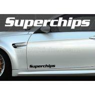 Set 2 buc. sticker auto lateral - SUPERCHIPS