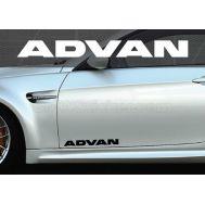 Set 2 buc. sticker auto lateral - ADVAN