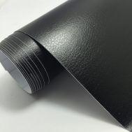 Folie auto DECO - Imitatie Piele Neagra (50 x 45cm)