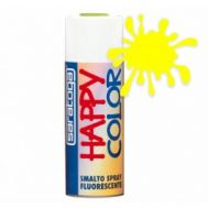 Spray vopsea Galben Fluorescent , HappyColor, 400ml