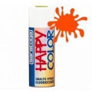 Spray vopsea Orange Fluorescent , HappyColor, 400ml