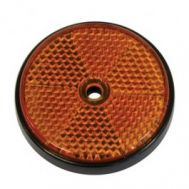 Catadioptru reflectorizant rotund orange 60mm , 1 buc.