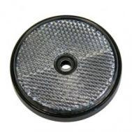 Catadioptru reflectorizant rotund alb 60mm , 1 buc.