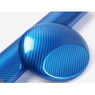 Folie colantare auto Carbon 5D - ALBASTRU (1m x 1,50m)