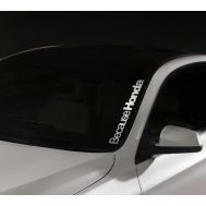 Sticker parbriz Honda