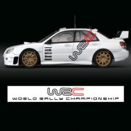 Set complet stickere WRC