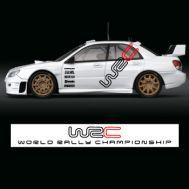Set complet stickere WRC
