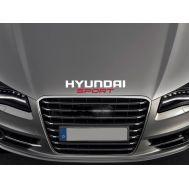 Sticker capota HYUNDAI - CPT23