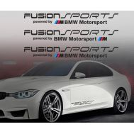 Sticker auto model BMW FUSION (set 3 buc.)