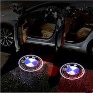Proiectoare in portiera cu Logo BMW Seria 3, 5, 6, 7, Z, X3, X5, X6, GT