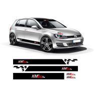 Set stickere promo, KM100.ro  (5 piese)