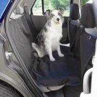 Husa auto protectie caini si pisici husa protectie bancheta Steetwize, cu decupaj pentru centura de siguranta