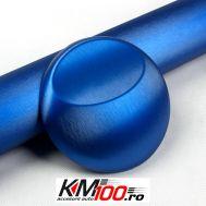 Folie colantare auto ALUMINIU POLISAT - Albastru (30cm x 1,52m)