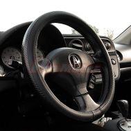 Husa volan, CARBON LOOK, 37 - 39cm, universala, pentru autoturisme