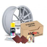 Kit reparatie jante, culoare ALB (V1) - Cod RAL: 9010