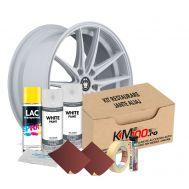 Kit reparatie jante, culoare ALB (V2) - Cod RAL: 9010