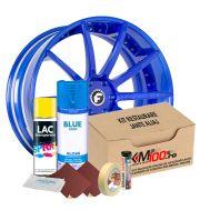 Kit reparatie jante, culoare SKY BLUE (V1) - Cod RAL: 5015