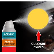 Spray Profesional RAL1018 pentru vopsire elemente din plastic sau metal