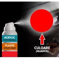 Spray Profesional RAL3020 pentru vopsire elemente din plastic sau metal