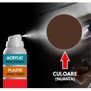 Spray Profesional RAL8011 pentru vopsire elemente din plastic sau metal