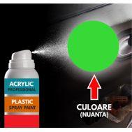 Spray Profesional RAL6018 pentru vopsire elemente din plastic sau metal
