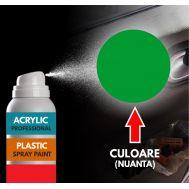 Spray Profesional RAL6002 pentru vopsire elemente din plastic sau metal