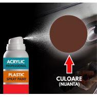Spray Profesional RAL8016 pentru vopsire elemente din plastic sau metal