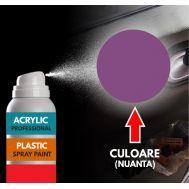 Spray Profesional RAL4008 pentru vopsire elemente din plastic sau metal