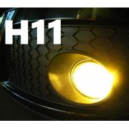 Set becuri ceata H11 - 12V, 55W (lumina galbena)