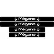 Set protectie praguri Renault Megane (v2)
