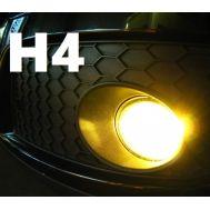 Set becuri ceata H4 - 12V, 55/60W (lumina galbena)