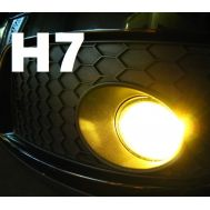 Set becuri ceata H7 - 12V, 55W (lumina galbena)