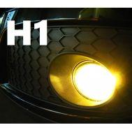 Set becuri ceata H1 - 12V, 55W (lumina galbena)
