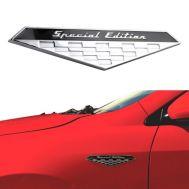 Emblema auto SPECIAL EDITION (reliefata 3D) - cu banda adeziva