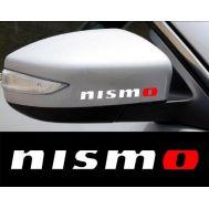 Sticker oglinda NISMO (set 2 buc.)