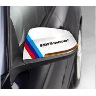 Sticker oglinda BMW ///M Motosport (2 buc.)