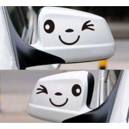 Sticker oglinda SMILE (set 2 buc.)