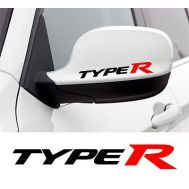 Sticker oglinda TYPE-R (set 2 buc.)