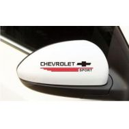Sticker oglinda CHEVROLET (set 2 buc.)