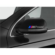 Sticker oglinda BMW ///M Power (2 buc.)