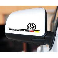Sticker oglinda VOLKSWAGEN (set 2 buc.)