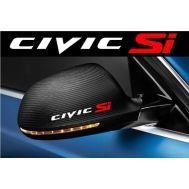 Sticker oglinda CIVIC (set 2 buc.)