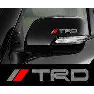 Sticker oglinda TRD (set 2 buc.)